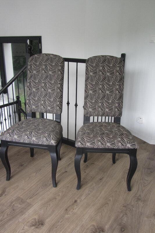 chaises retapissées Brest
