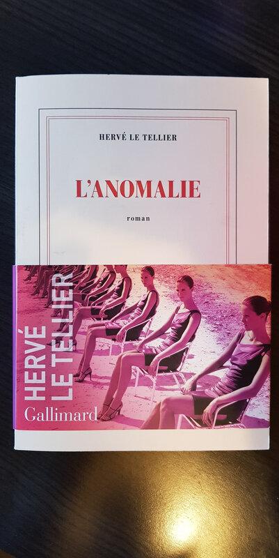 L'Anomalie - Hervé Le Tellier - Prix Goncourt 2020