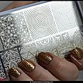 Nail art hypnotique by born pretty store