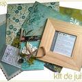 Le kit de juillet