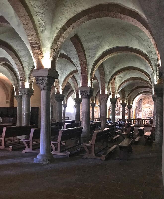 crypte du Duomo Parme