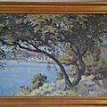 Bord de mer signé l. darquay peintre bordelais