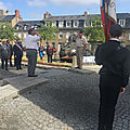 Memorial day 2020 post confinement à avranches - dimanche 24 mai 2020