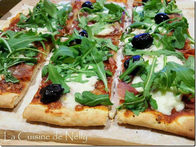 Pizza Curé Nantais Jambon Serrano2