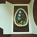 Carte pour pâques création quilling