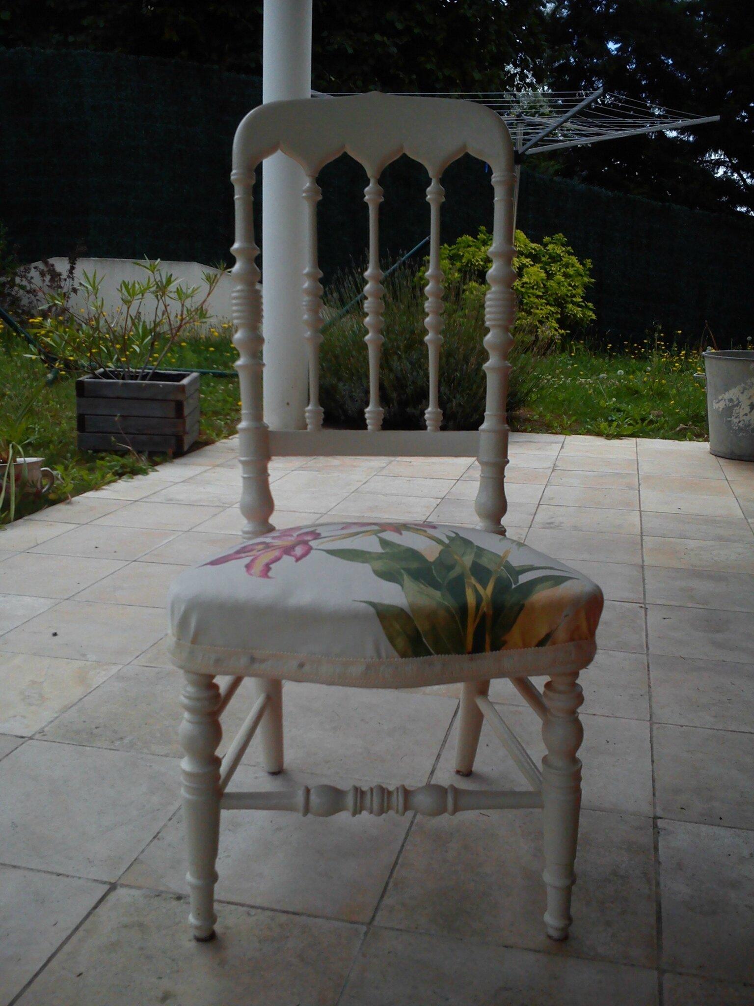 Relooking De Chaise Nourrice