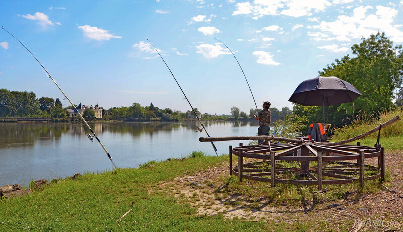 Pêche à l'ombre