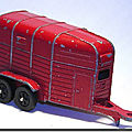Corgi juniors rice horse box trailer ...