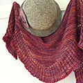 2 en 1 shawlette or shrug...