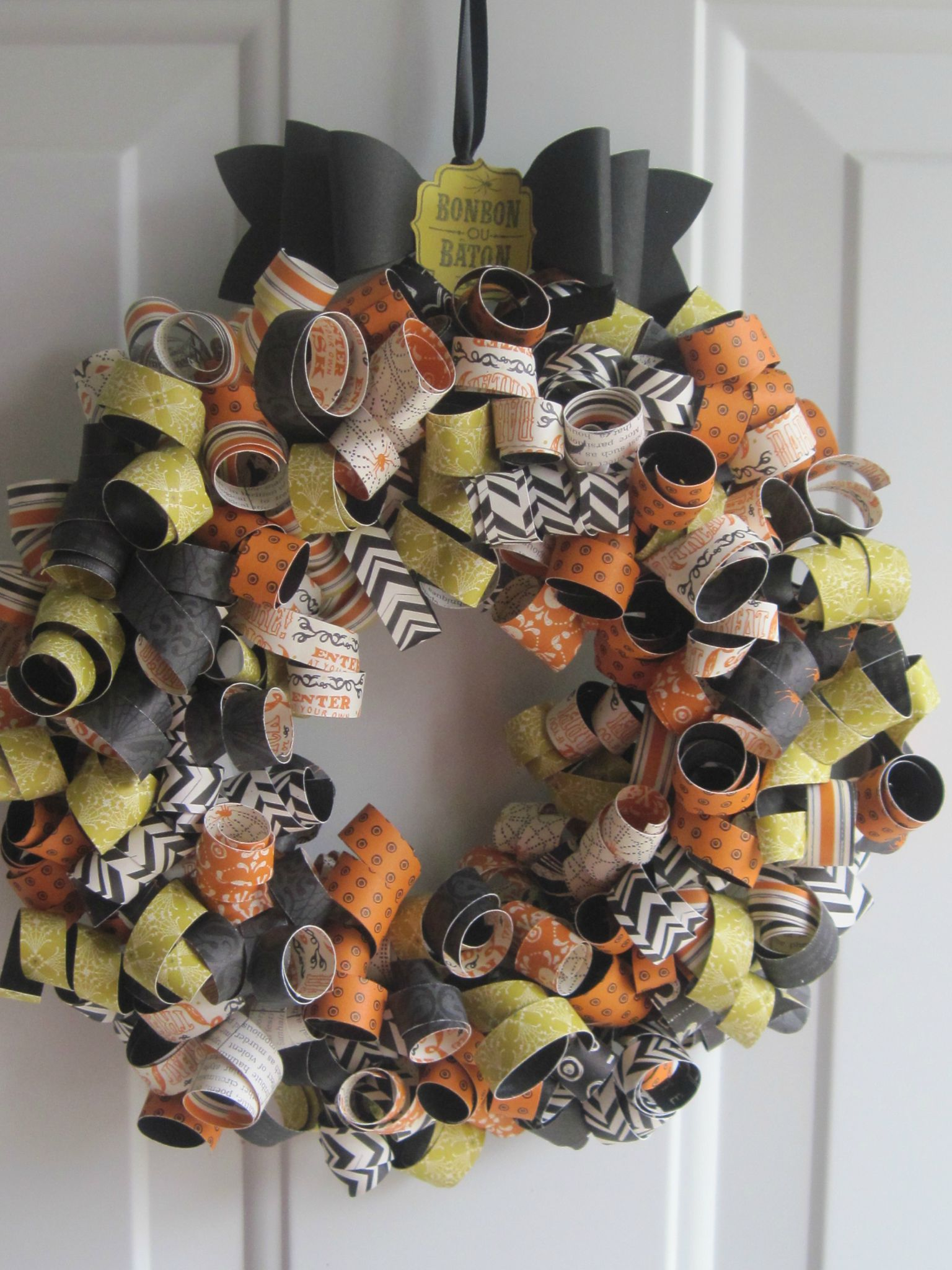 Couronne Dhalloween Lucette Bricole