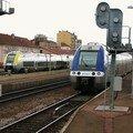 AGC B 81 500 en gare de Roanne