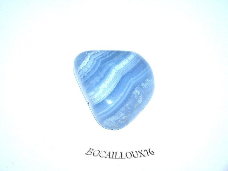 CALCEDOINE Bleue 4 Polie (4)