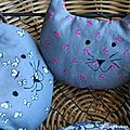 Une portée de chatons à la lavande