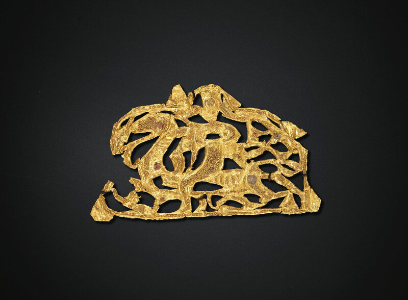 2019_NYR_18338_0528_002(four_small_gold_ornaments_eastern_han-six_dynasties_period_1st-4th_cen)