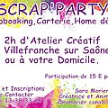 Scrap party le mardi 17 février 2015