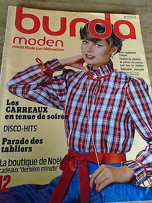 Magazine-Burda-Vintage-Disco-Hits-Les-Tabliers-Tenue