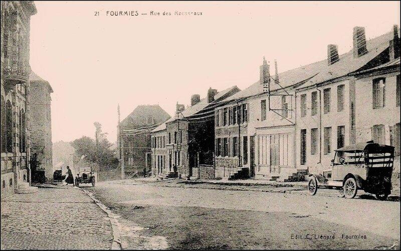 FOURMIES -Rue des Rousseaux