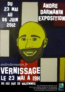 Exposition Andre Darmanin Local Wazemmes 23 mai 2012
