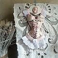 corset vichy rose