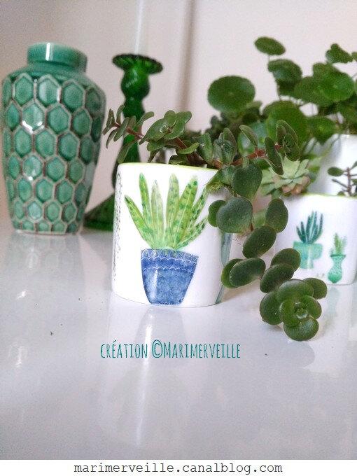 petit pot à succulente green attitude - création ©Marimerveille