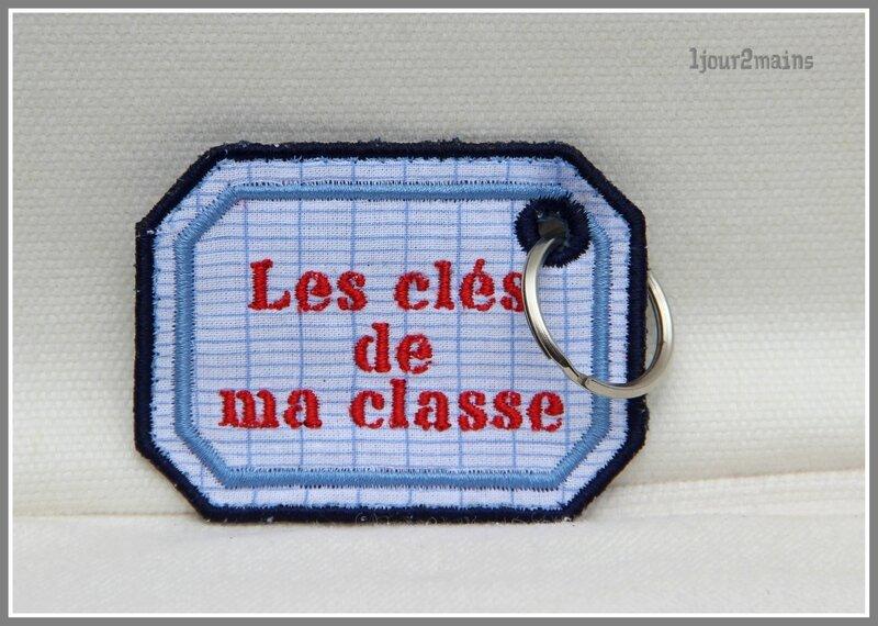 porte clé ma classe