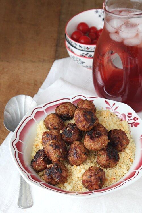 recette boulettes d agneau aux épices 002 LE MIAM MIAM BLOG