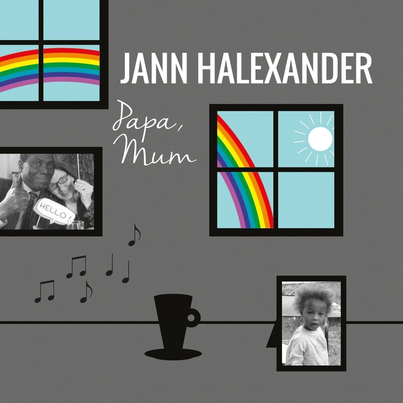 Couverture single Papa, Mum - Jann Halexander
