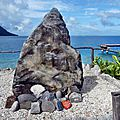 Huahine 2006 (8)point de départ course de pirogues
