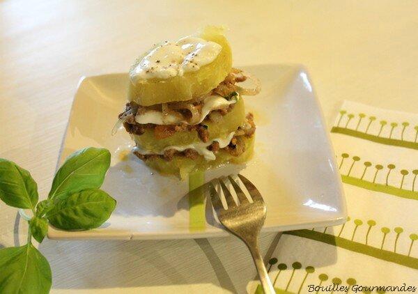 boeuf façon burger - bouilles gourmandes