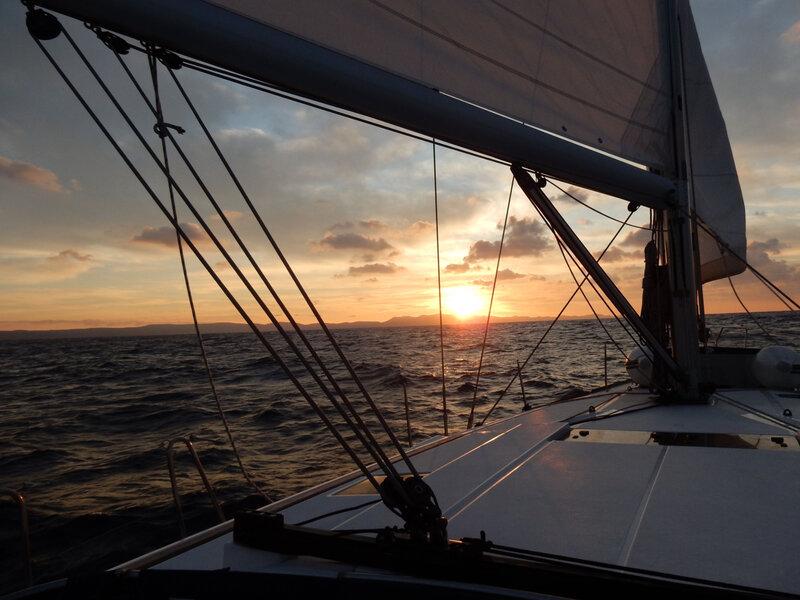 Lever du soleil sur Dugi Otok, jeudi 29 octobre 2020