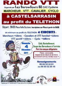 rallye telethon 2011 Castelsarrasin
