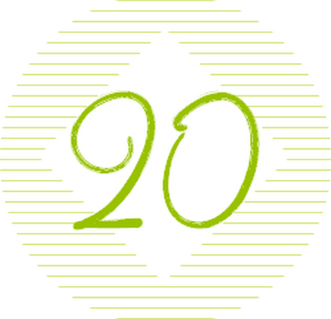 20 vert