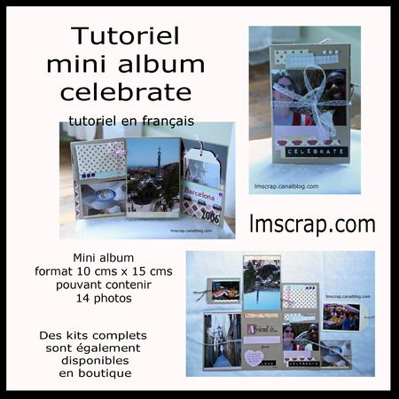 Tutoriel francais mini celebrate lmscrap