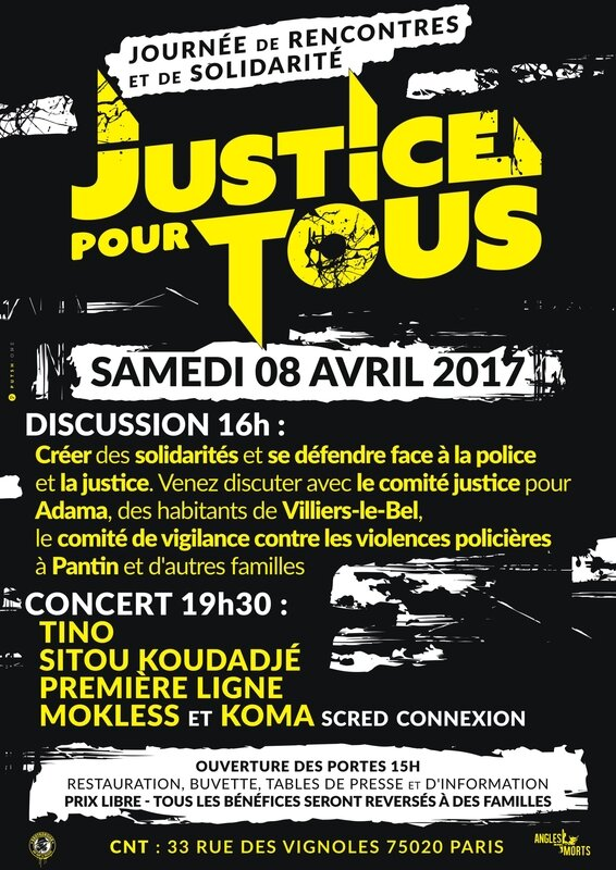 8 avril violences policières