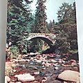 Gérardmer - la Vologne - pont des fées datée 1972