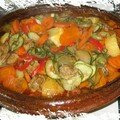 Tajine de porc aux légumes
