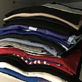 Des tee-shirts, toujours des tee-shirts
