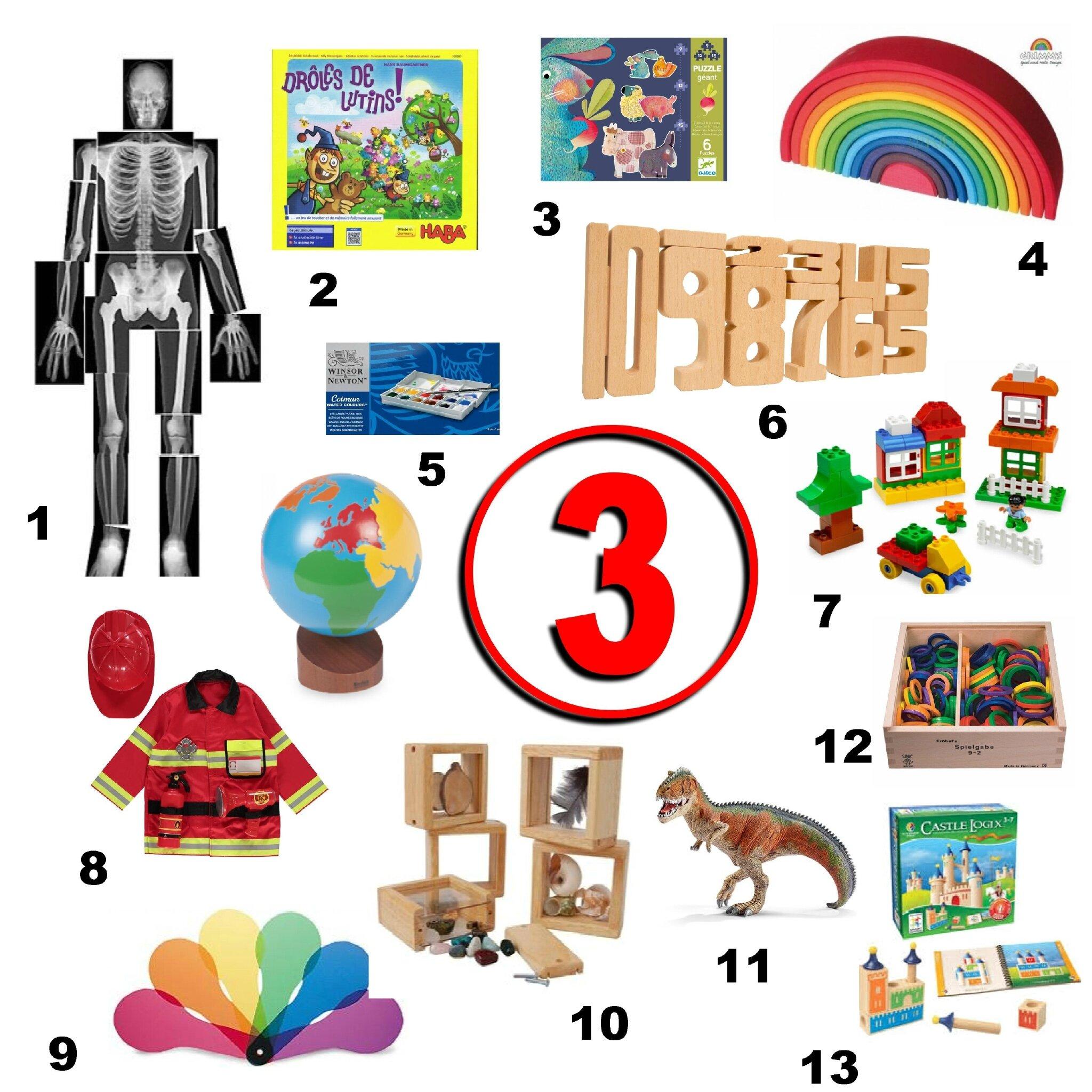 Idées Cadeaux Pour Un Enfant De 3 Ans Graine De Crapule
