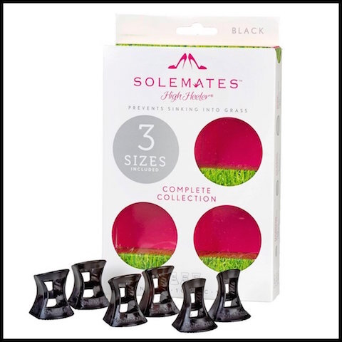 the solemates protections talons aiguilles black