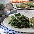 Salade de lentilles et chou kale (100% végétal et sans gluten)