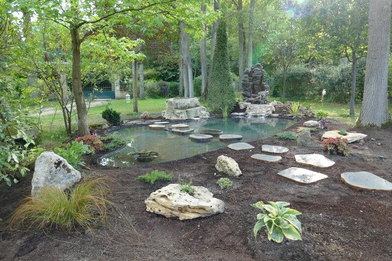 Août 2019 - Quand nous décidons de créer un bassin...