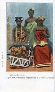 mujeres Corisco