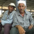 Des Egyptiens, a l'arrivee a Nuweiba
