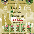 Trail du mont de berru édition 2019