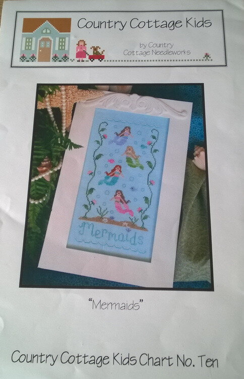 "Fiche point de croix ""Mermaids"" de Country Cottage Needleworks"