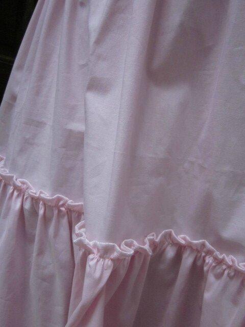 Jupon CLEMENTINE en coton rose (3)