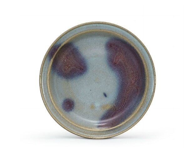 A purple-splashed Jun dish, Jin-Yuan Dynasty