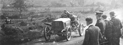 1903 gordon bennett trophy, athy, northern ireland - henri farman (panhard) 3rd