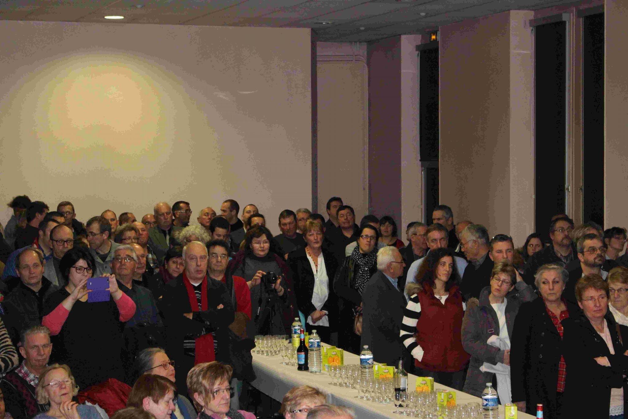 Cérémonie des voeux de la commune et de la communauté de communes à Nogent-le-Roi