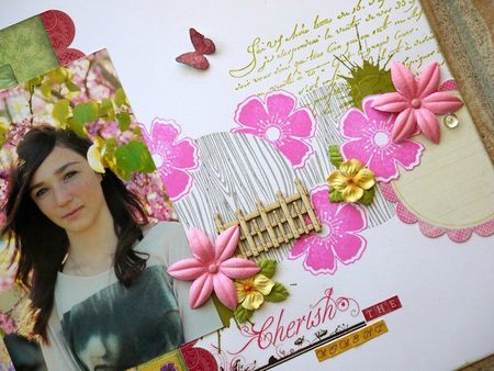 détail 1 page cherish the moment